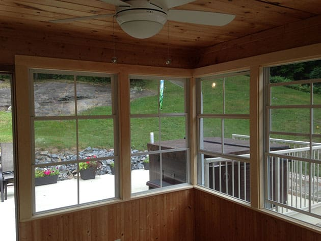 Weatherall window screens
